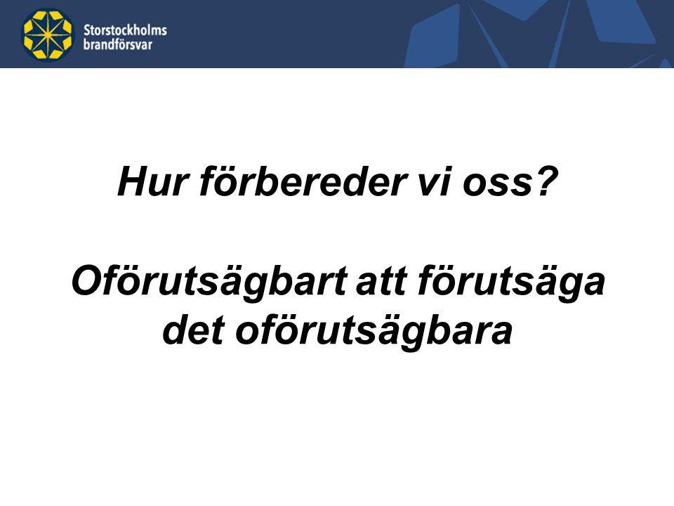 Storstockholms brandförsvar – vi skapar trygghet