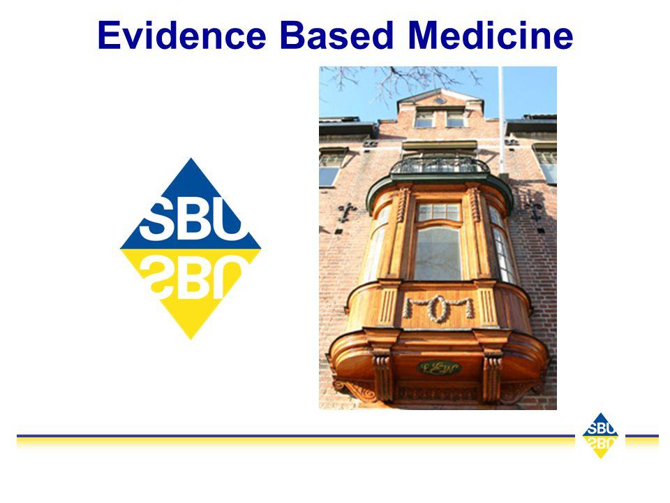 Slutsatser God klinisk forskning leder till god klinisk praxis RCT inte enda grunden för EBM Mycket forskning görs som inte kan användas Slöseri med patientens tid och samhällets resurser Ibland risker.