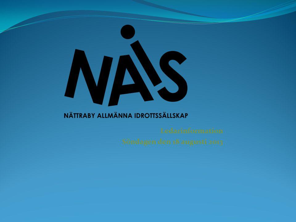 Försäkringar I medlemskapet i NAIS ingår en basförsäkring.