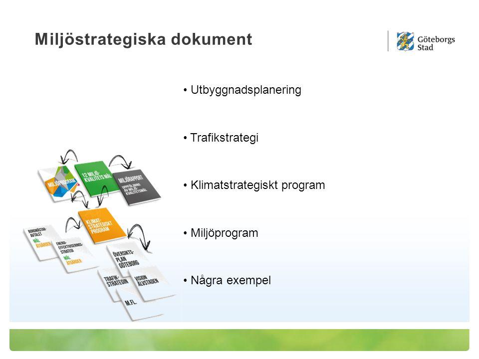 Åtgärdsprogram mot buller I Göteborg beräknas 100 000 boende vara utsatta för trafikbuller vid sin bostad som överskrider det nationella riktvärdet 55 dBA God ljudmiljö Platser där bullernivåerna är så låga att ljud som hör platsen till och som vi upplever som positiva kan få dominera EN HÅLLBAR STAD – ÖPPEN FÖR VÄRLDEN