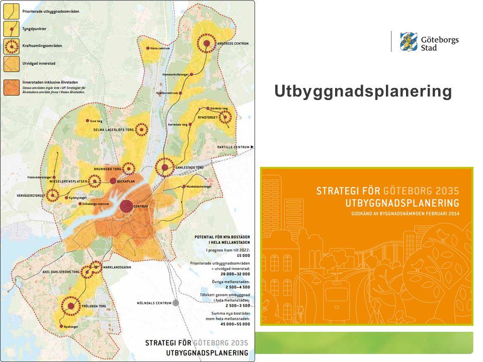 Trafikstrategi för en nära storstad Resor Stadsrum Godstransporter