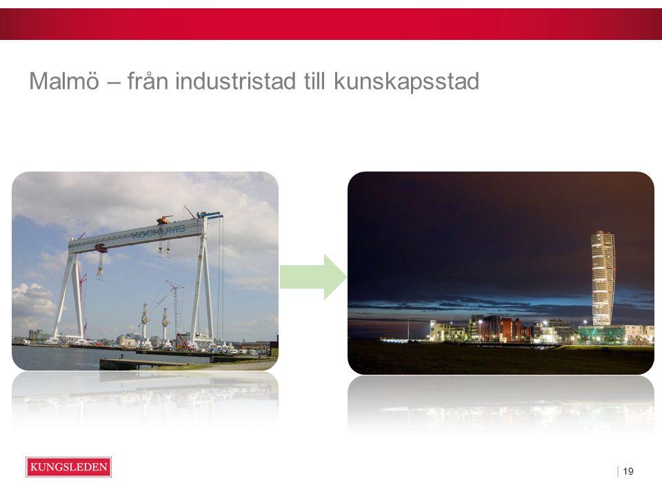 | 19 Malmö – från industristad till kunskapsstad
