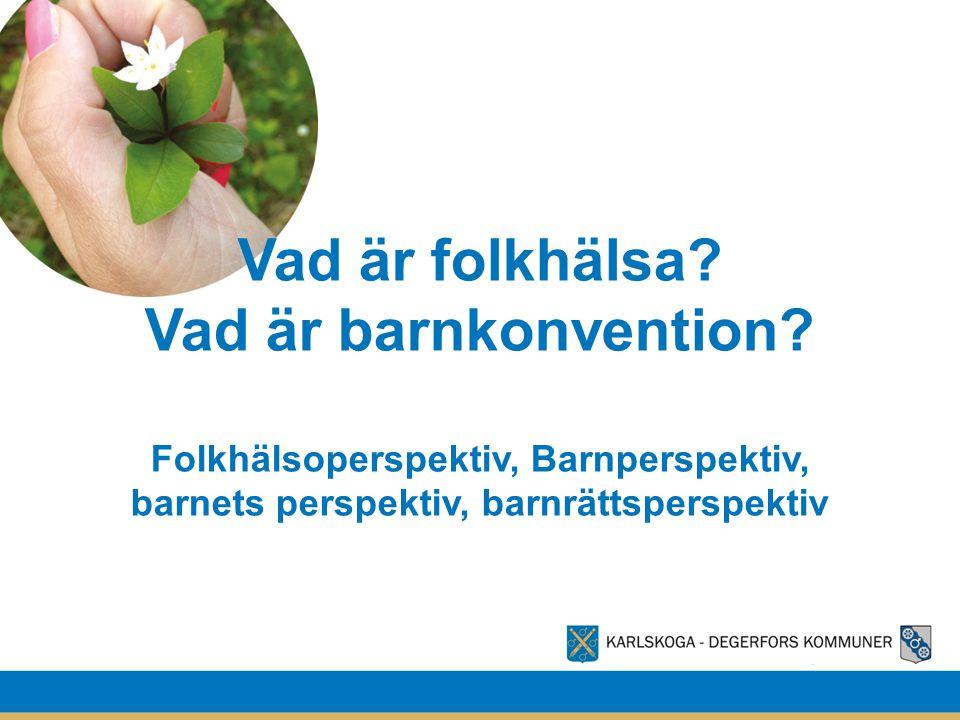 Vad är folkhälsa? Vad är barnkonvention? Folkhälsoperspektiv, Barnperspektiv, barnets perspektiv, barnrättsperspektiv