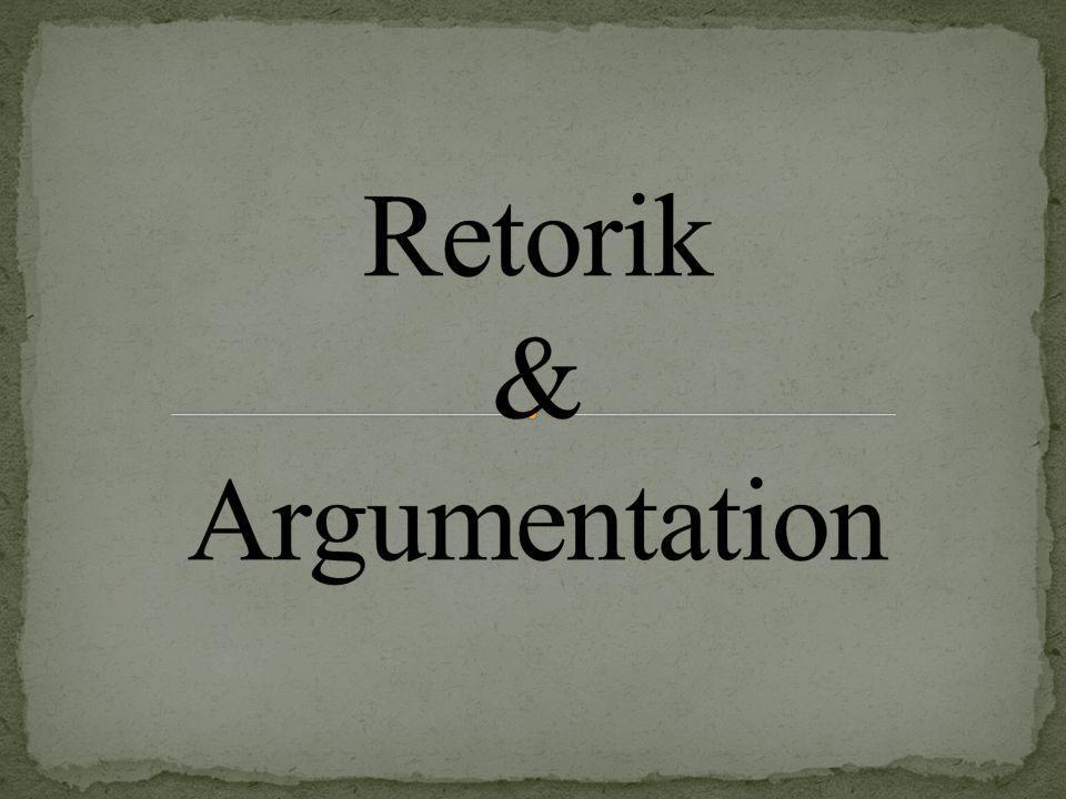 Vad är retorik? Konsten att tala! Lösa problem Övertyga lyssnarna