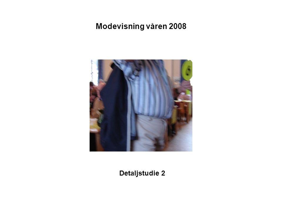 Modevisning våren 2008 Detaljstudie 2