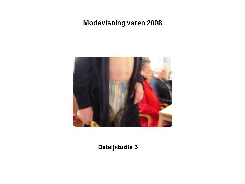 Modevisning våren 2008 Detaljstudie 3