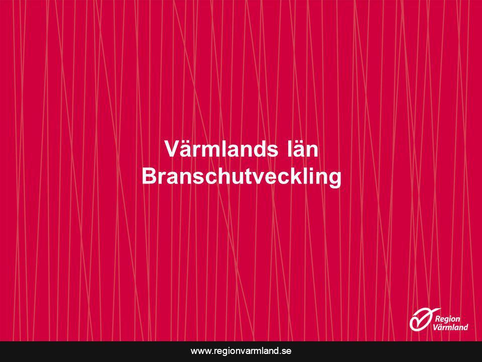 www.regionvarmland.se Värmlands län Branschutveckling