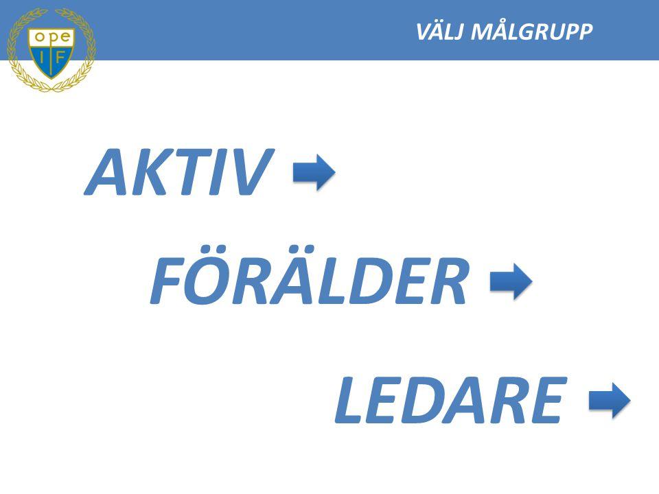 LEDARE 3 Svenska Fotbollsförbundets Spela, lek och lär säger bl.a.