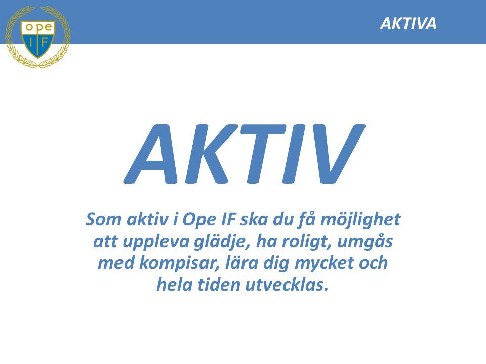 AKTIVA 1 Det är viktigt att respektera domare, funktionärer, motståndare och lagkamrater.