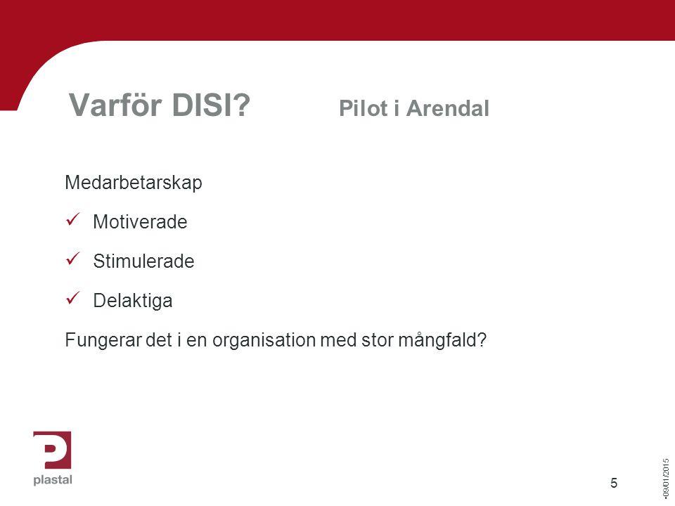 09/01/2015 5 Varför DISI.
