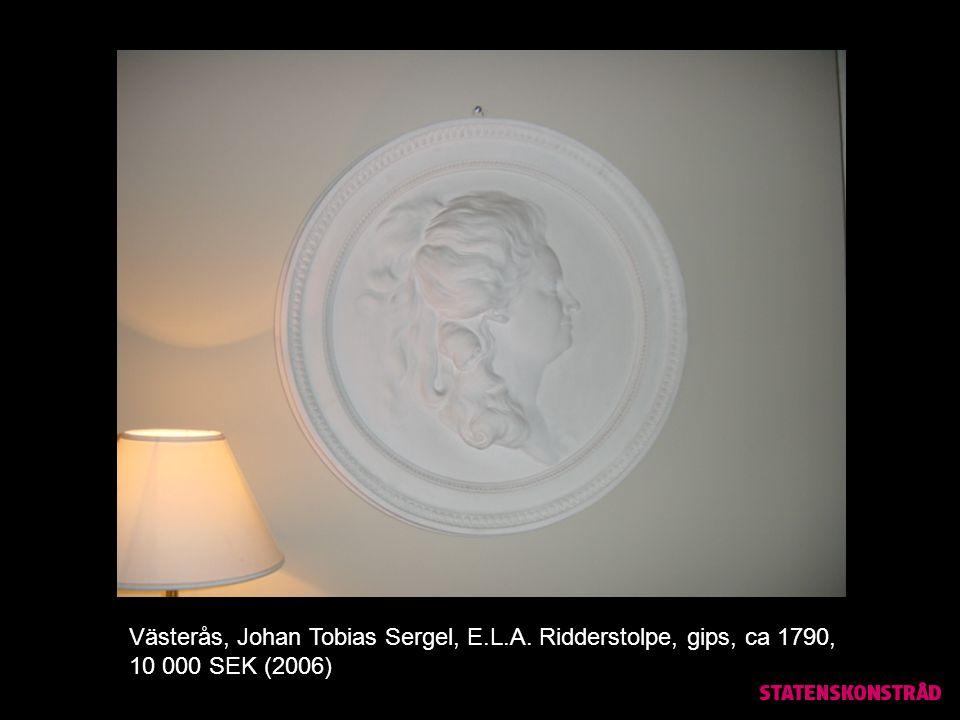 Västerås, Jockum Nordström, teckningar, inköp 34 000 SEK (2003), värde 400 000 SEK (2010)