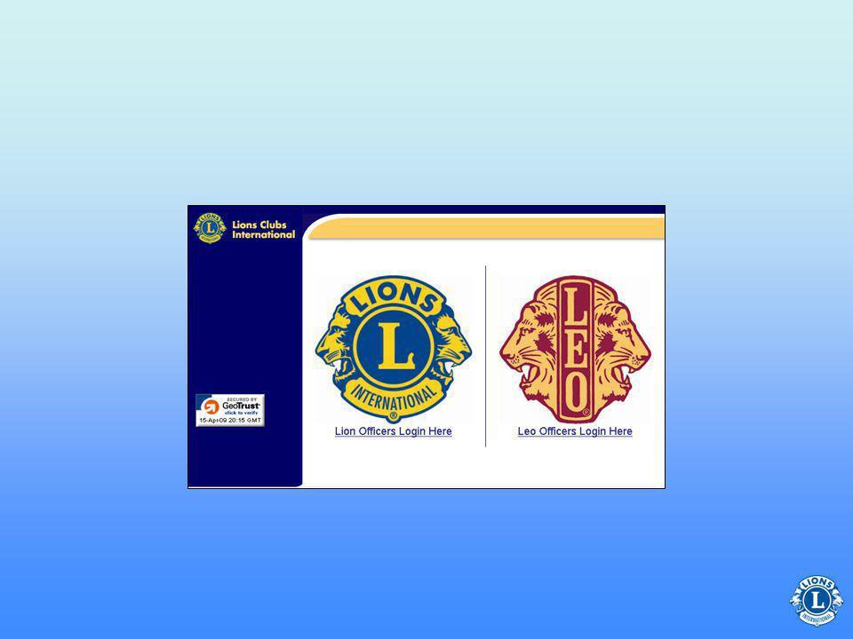 Använd LCI:s webbplats för: Frågor om rapporter Månatlig medlemsrapport Tranfer- medlem Aktivitets- rapport Muntlig rapport Valda delegater Vilka rapporter kan sekreteraren skicka via LCI:s webbplats.