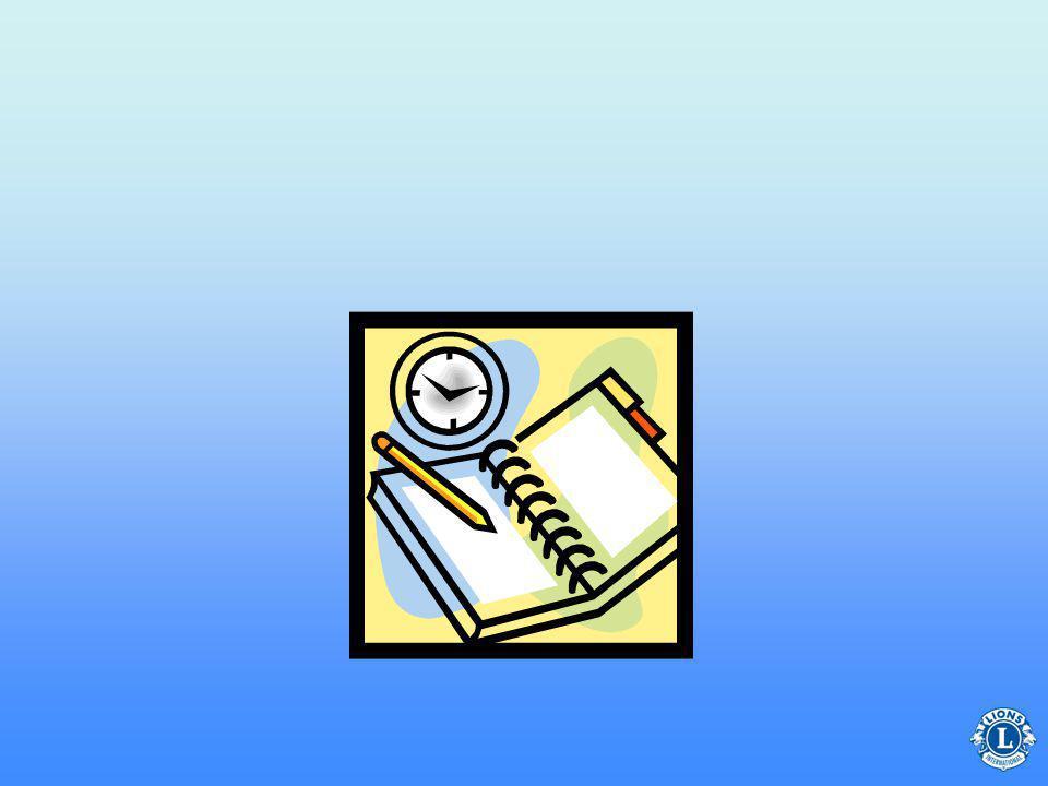 Klubb kan fastställa egna deadlines för rapporter.
