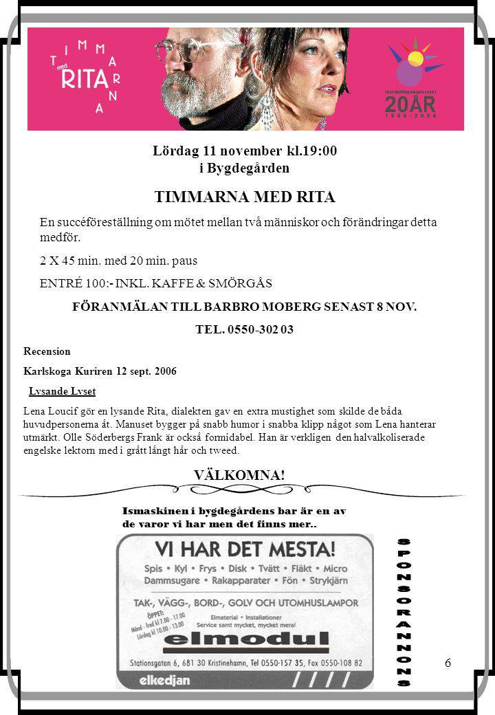 6 Recension Karlskoga Kuriren 12 sept.
