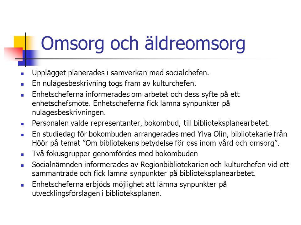 Exempel, bilaga kostnader ÅtgärdBudgetAnsvar Webbopac för självutlåning installeras i Timmernabben, Fliseryd och Ålems bibliotek.