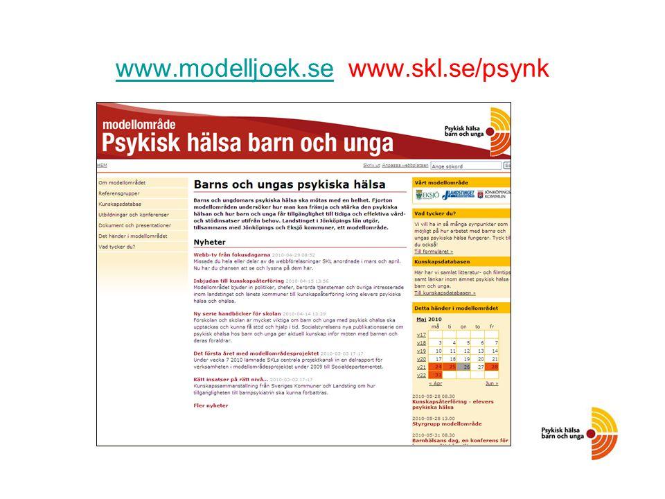 www.modelljoek.se www.modelljoek.se www.skl.se/psynk
