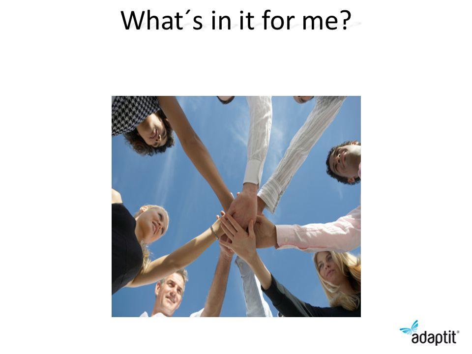 ADKAR analys av grupp och individ Ge en siffra 1-5 på varje medarbetare beroende på var de befinner sig Dela in gruppen i tre delar: Gr1 vill, Gr2 osäkra, Gr 3 Vill inte Handlingsplan för de som har 1-3 NamnADKAR