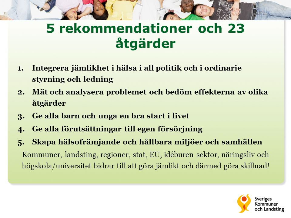 Mötesplats social hållbarhet (Folkhälsomyndigheten) Syfte.