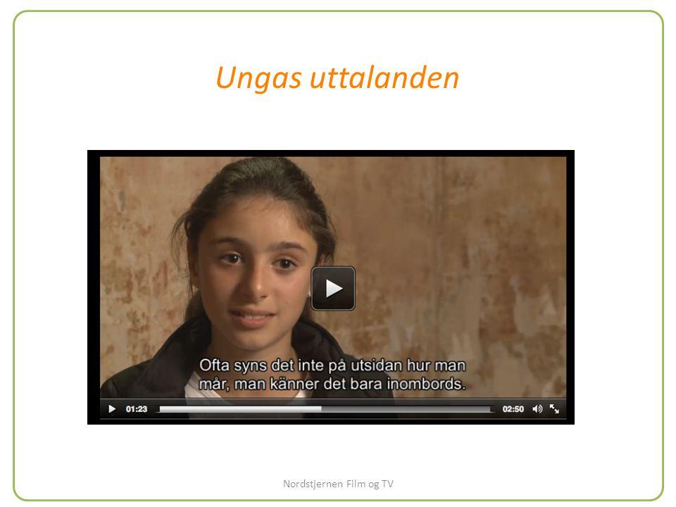 Ungas uttalanden Nordstjernen Film og TV