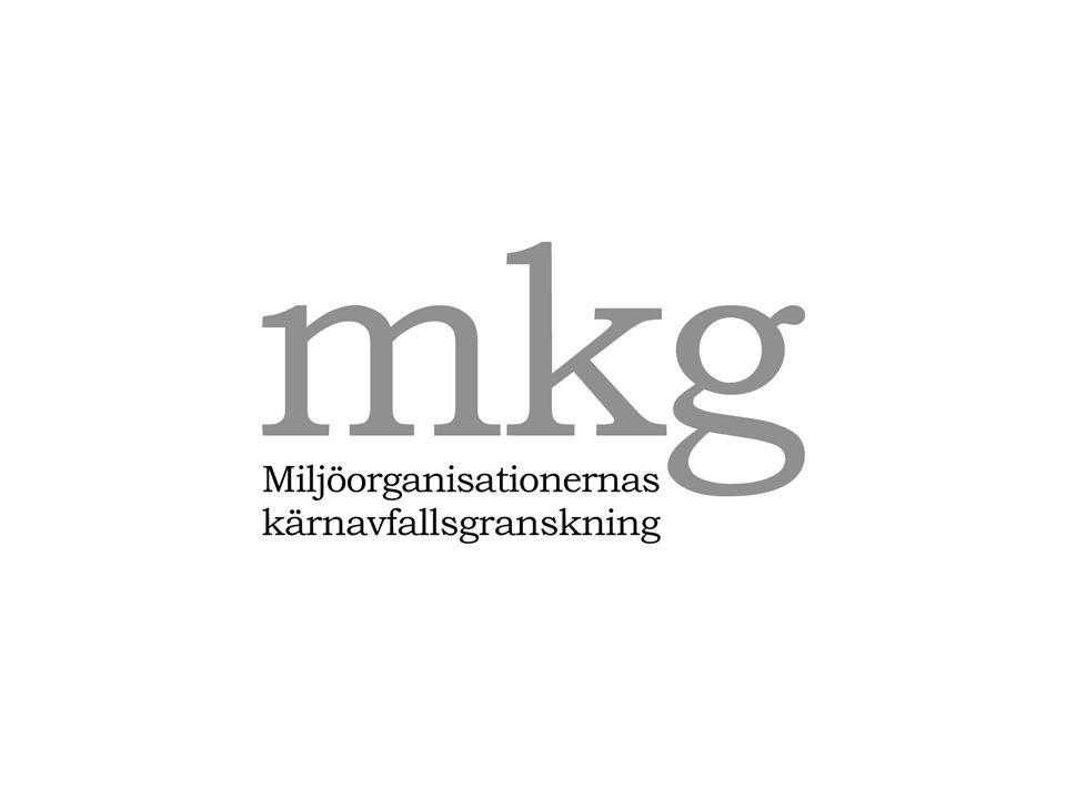 0 Johan Swahn, Miljöorganisationernas kärnavfallsgranskning, MKG
