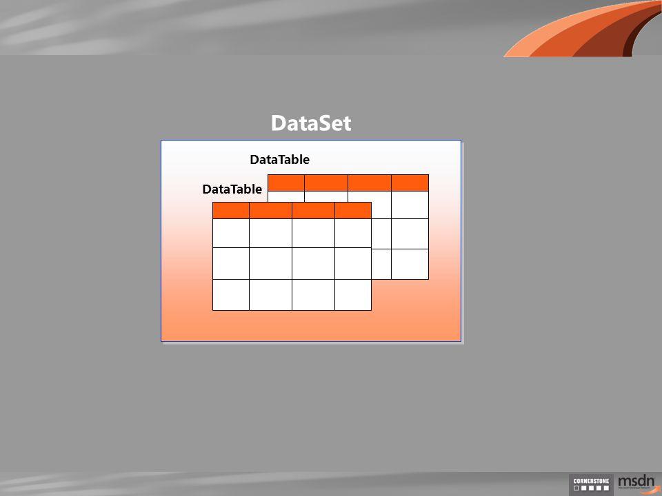 DataTable DataSet