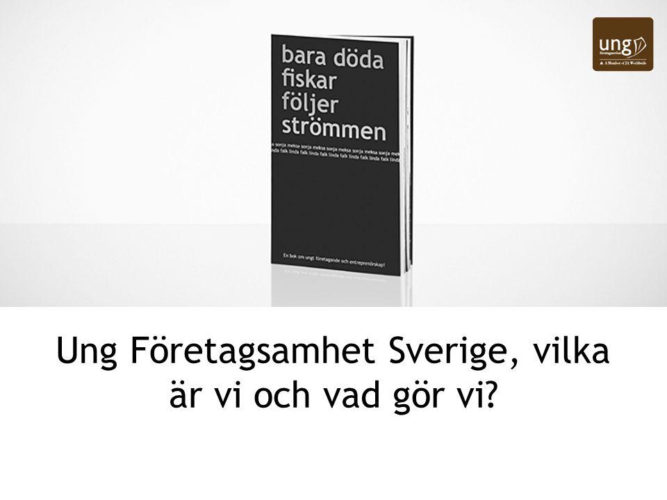 Ung Företagsamhet Sverige, vilka är vi och vad gör vi?