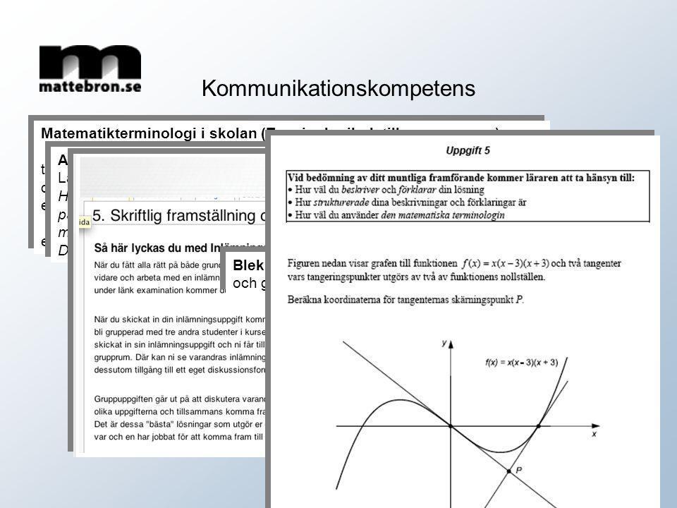 Matematikterminologi i skolan (Terminologibok till sommaren…) term formel definition uttryck som beskriver samband med hjälp av symboler exempel Forme