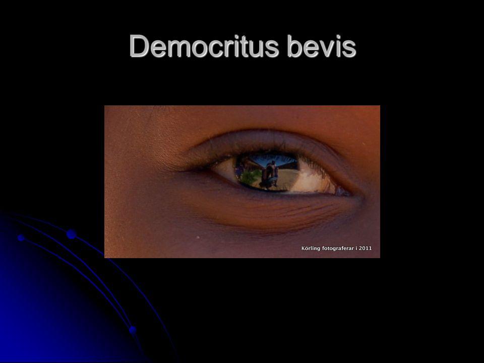 Democritus bevis