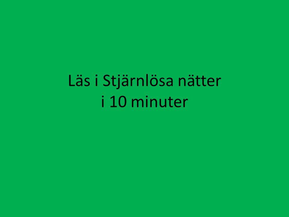 Läs i Stjärnlösa nätter i 10 minuter