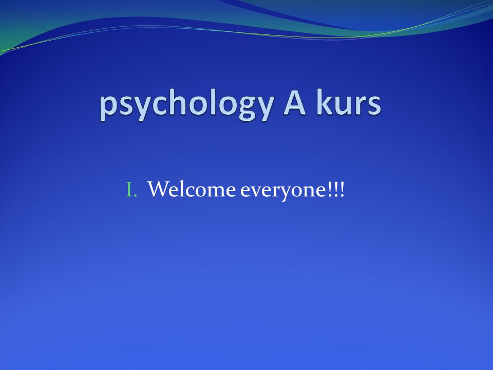 What is psychology really.