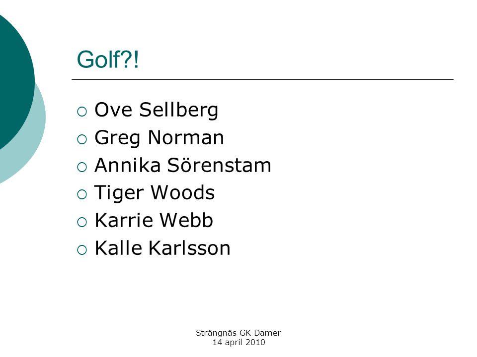 Golf .