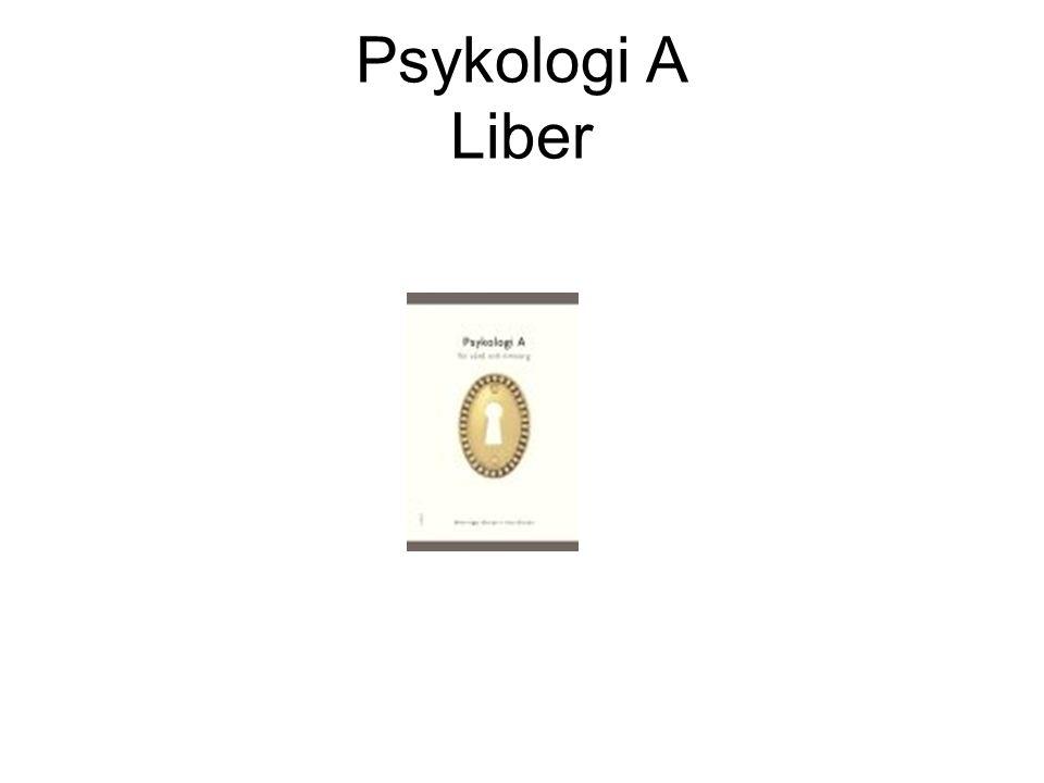 Psykologi A Liber