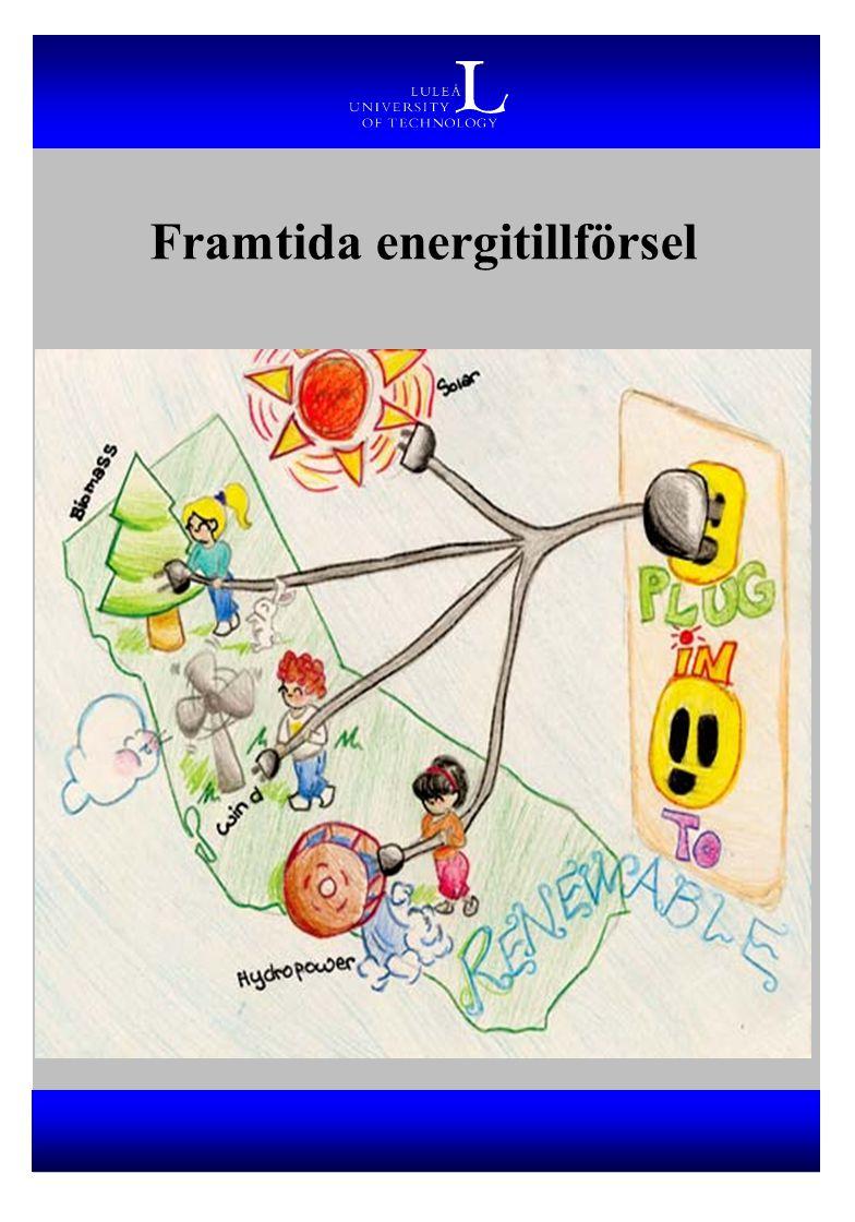 Framtida energitillförsel