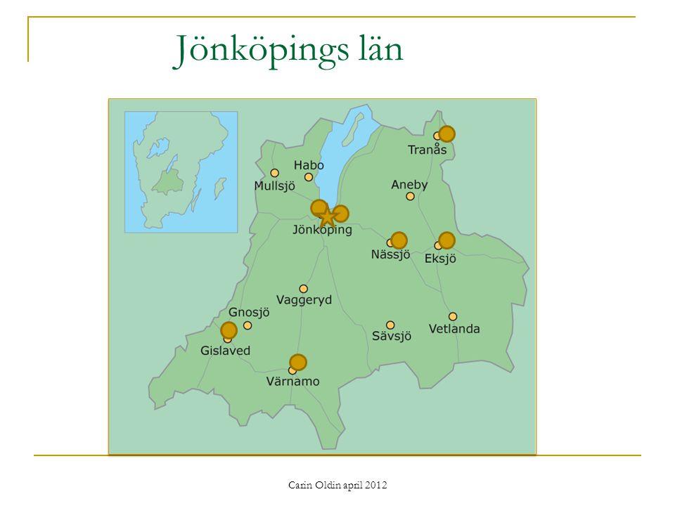 Jönköpings län Carin Oldin april 2012