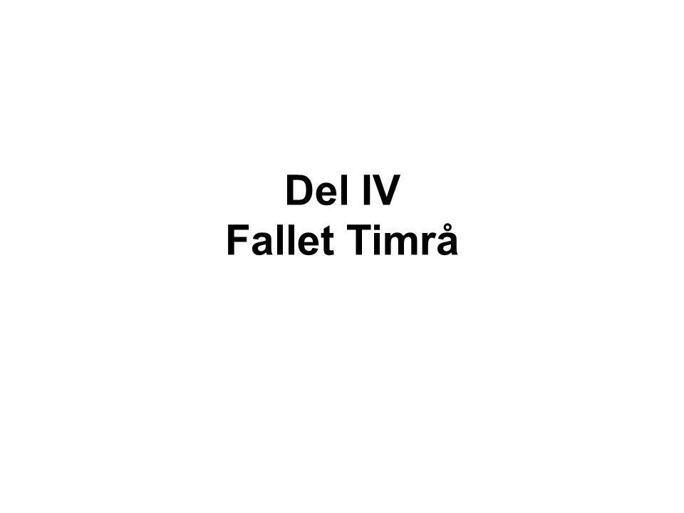 Del IV Fallet Timrå