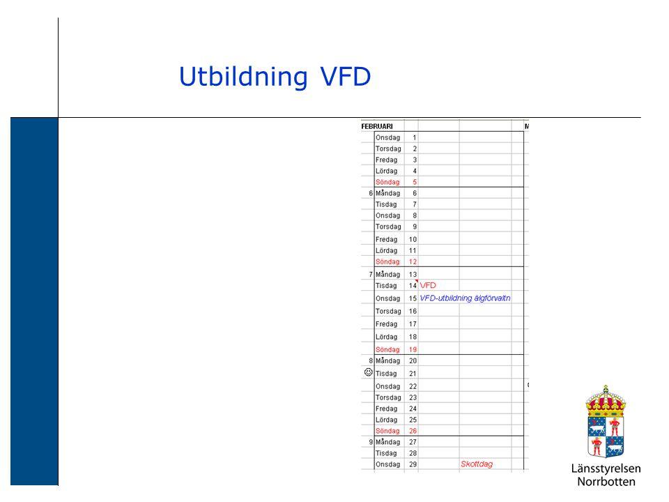 Utbildning VFD