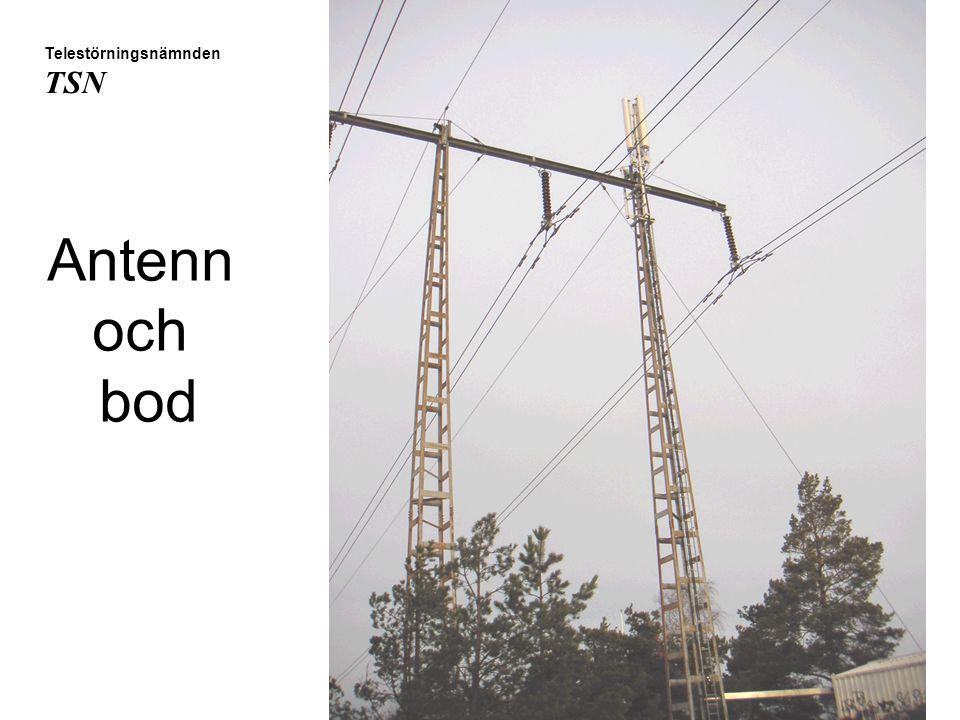 Antenn och bod Telestörningsnämnden TSN