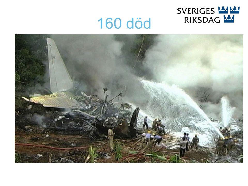 160 död
