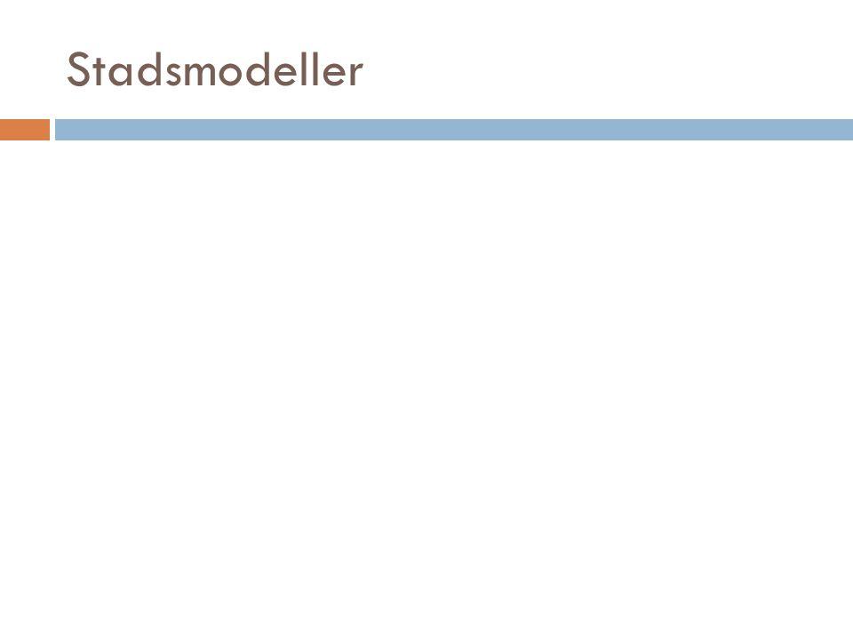 Stadsmodeller