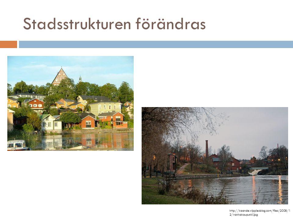 Stadsstrukturen förändras http://kaande.wippiesblog.com/files/2008/1 2/vanhakaupunki.jpg