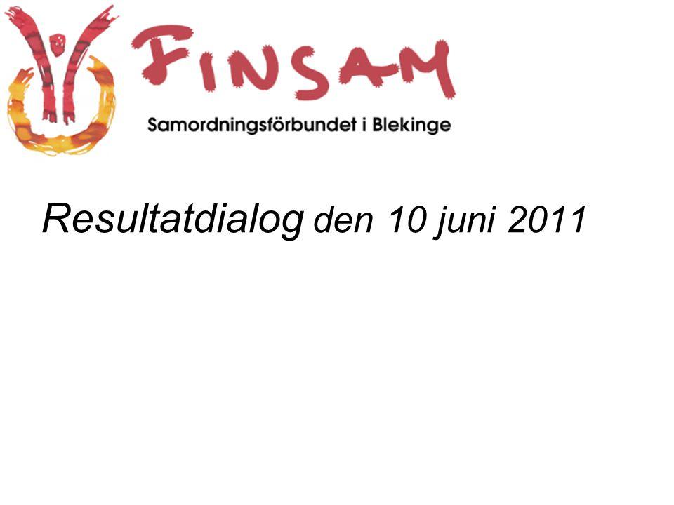 Resultatdialog den 10 juni 2011