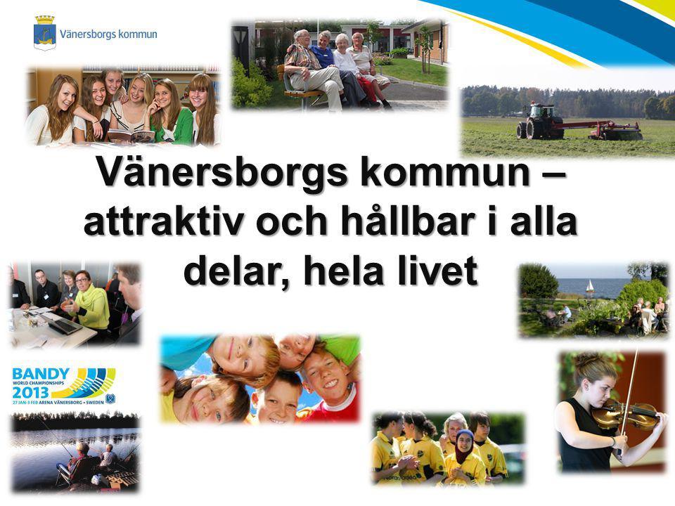 Vänersborgs kommun – attraktiv och hållbar i alla delar, hela livet