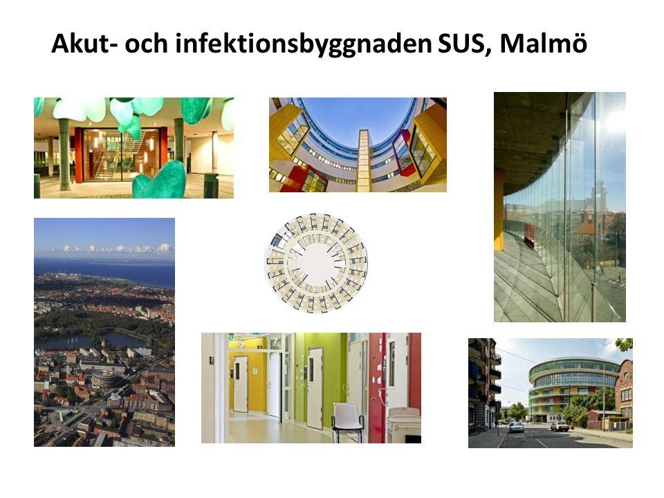 Akut- och infektionsbyggnaden SUS, Malmö