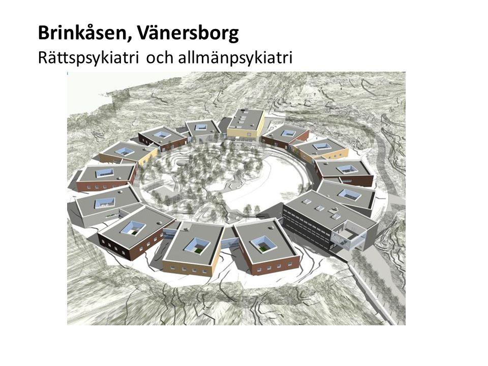 Brinkåsen, Vänersborg Rättspsykiatri och allmänpsykiatri