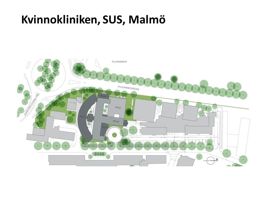 Kvinnokliniken, SUS, Malmö