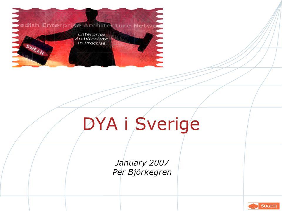 DYA i Sverige January 2007 Per Björkegren