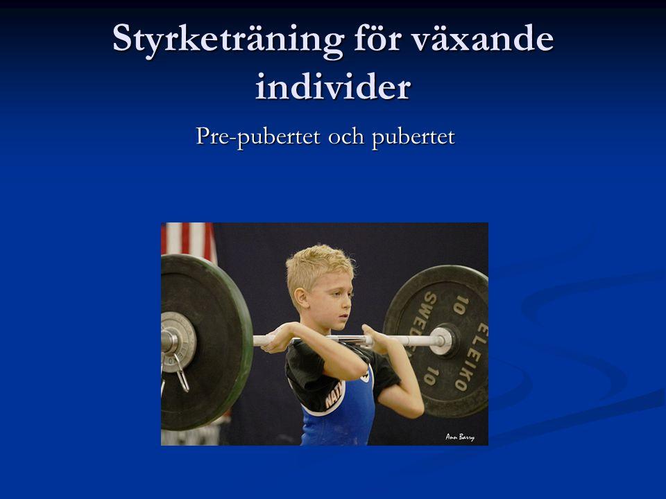 Myt 3: Styrketräning hämmar barns längdtillväxt Inga studier stöder detta.