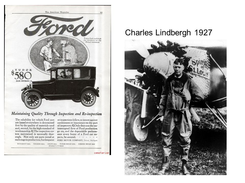 Charles Lindbergh 1927