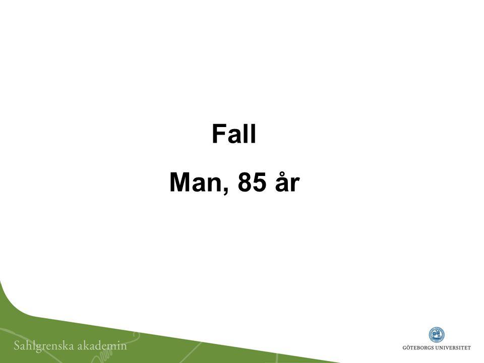 Fall Man, 85 år