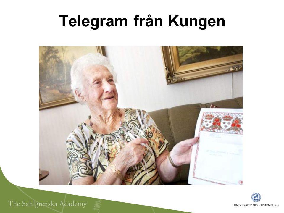 Telegram från Kungen